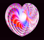 fractal heart - by Jack Yaco